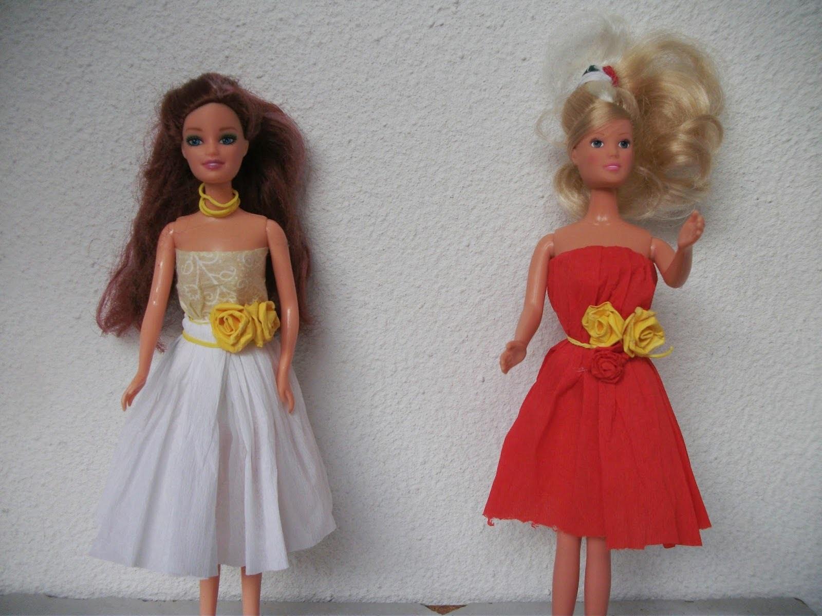 Como fazer vestido para sua Barbie