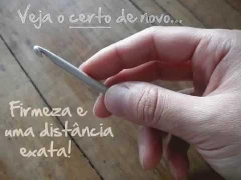 Crochê: aula básica para aprender | Superziper