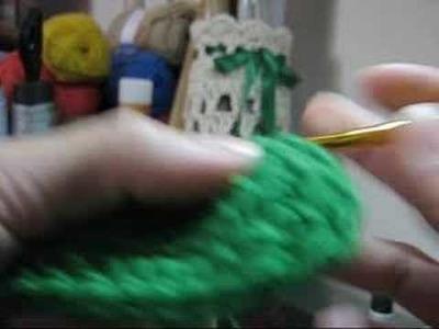 Crochê - Meias com Botões - Parte 01
