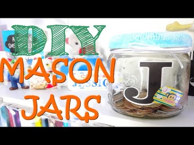 DIY: COFRE. porta moedas baratinho ANTI ROUBO ou MASON JARS