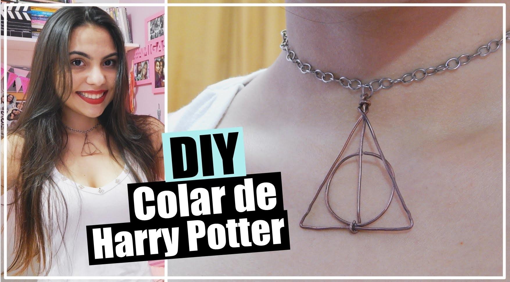 DIY: Colar de Harry Potter | Andressa Moraes