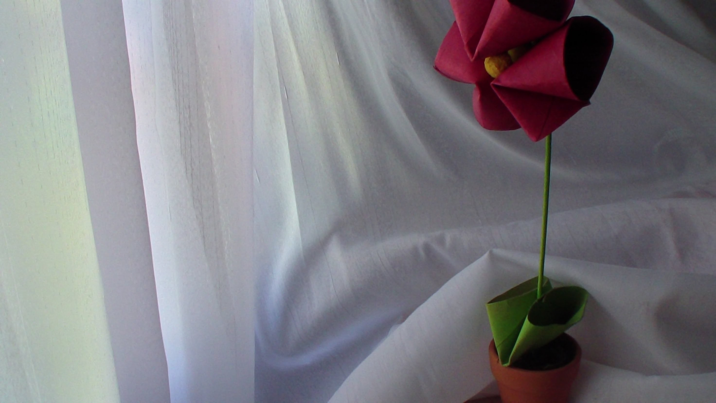 DIY - Flor de Papel para o Dia da Mãe