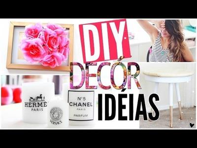 DIY: Idéias de decoração para uma casa Pinterest!! - por Aline Pepe