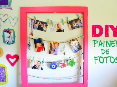 DIY Painel de fotos e recados