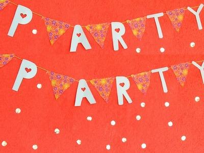 DIY Party: Comidas e Decoração | Coisas da Bia