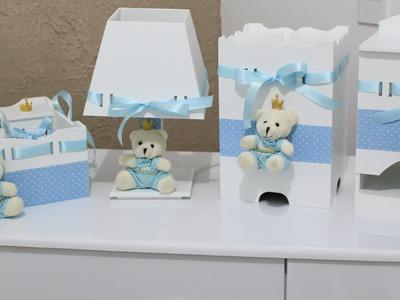 Faça você mesma o kit higiene do seu bebê!