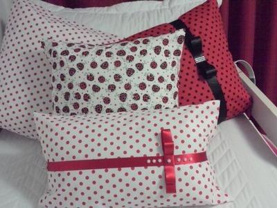 Faça você mesmo.DIY: Capa para almofada sem costura