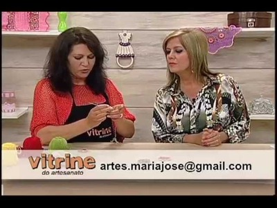 Caminho de Mesa com Maria José - Vitrine do Artesanato na TV