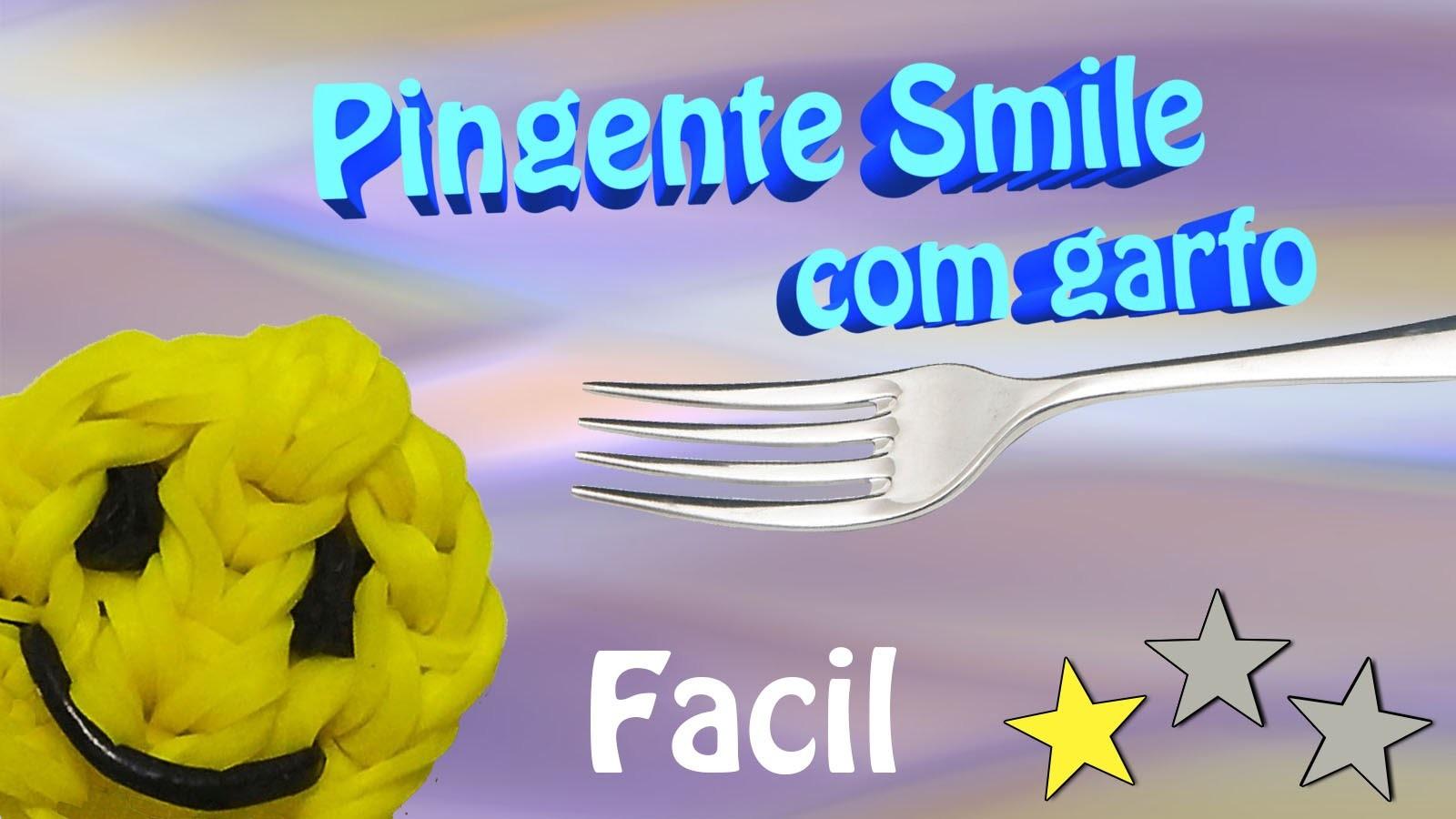 Como Fazer um Pingente Smile usando dois garfos