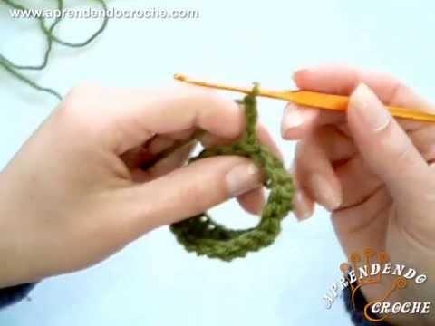 Crochê Tubular sem costura - Aprendendo Croche