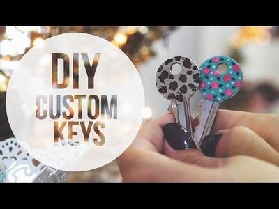 DIY: Custom Key   Trashy Fame