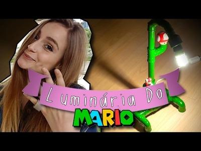 DIY Geek: Como Fazer uma Luminária do Mario ❤