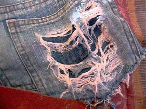 Faça você mesma - Destruindo o seu jeans
