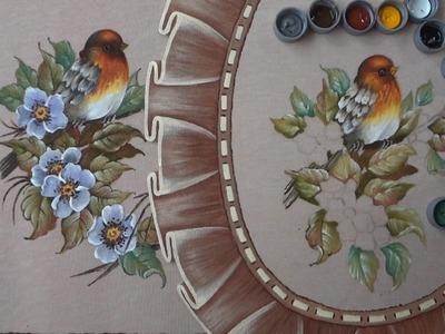 Pássaro  em Emborrachado (Parte 1.Aula 6)