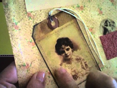 Projetos de Scrapbooking Estilo Vintage-Antigas e envelhecimento