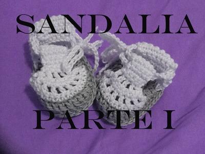 Sandália de Croche - parte 1