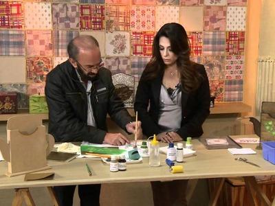 Vida Melhor - Artesanato: Porta coador de café (Carlos Saad)