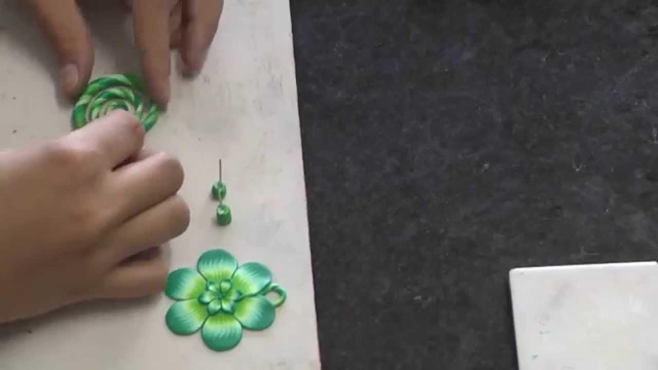 Arte Cores e Flores - Cerâmica Plástica (polymer clay) - versão reduzida