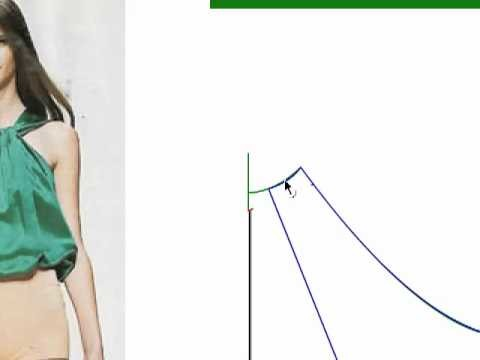 Blusa Verde - Barra repolhuda