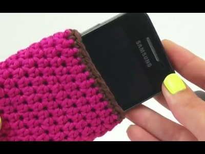 Como fazer capas de croche - Como Fazer Capa para Celular - fazer croche em portugues