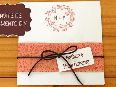 Convite de Casamento e Debutante  --- DIY --- Faça Você Mesma