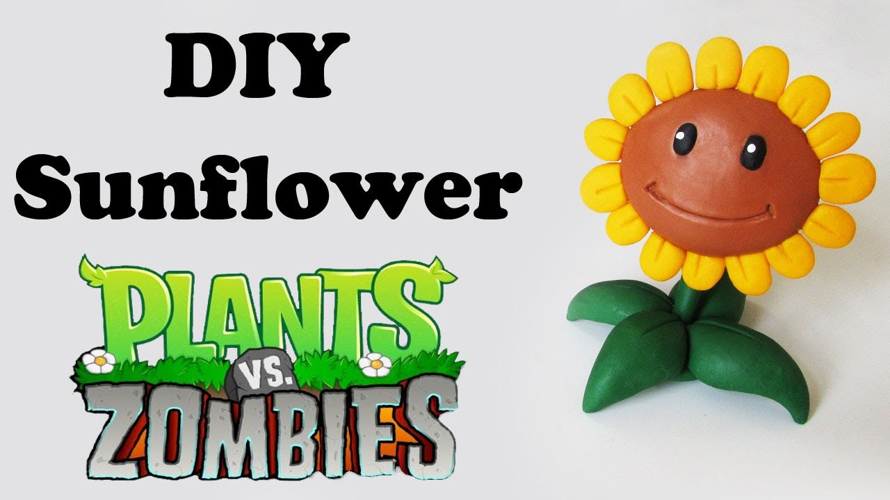DIY: Como Fazer Sunflower de PLANTS vs. ZOMBIES