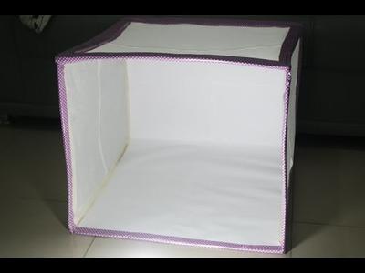 DIY Mini Estúdio Fotográfico