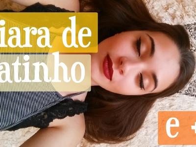 DIY Tiara de Gata Para Festa a Fantasia.Halloween | Maísa Flora