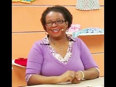 Gorro de Ursinho em crochê com Denise Lopes | Vitrine do Artesanato na TV