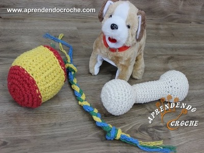 Kit Brinquedos Crochê Pet - Aprendendo Crochê