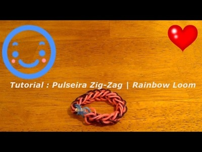 Tutorial : Pulseira Zig-Zag | Rainbow Loom