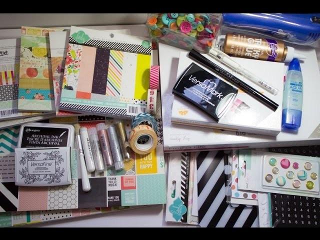 Compras Scrapbook-  Julho#2
