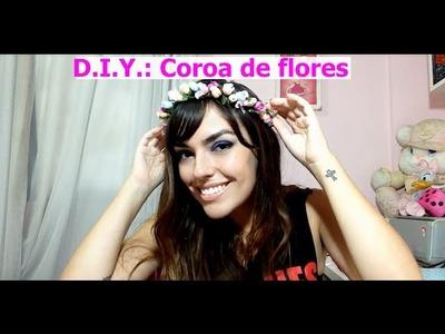 D.I.Y: coroa de flores