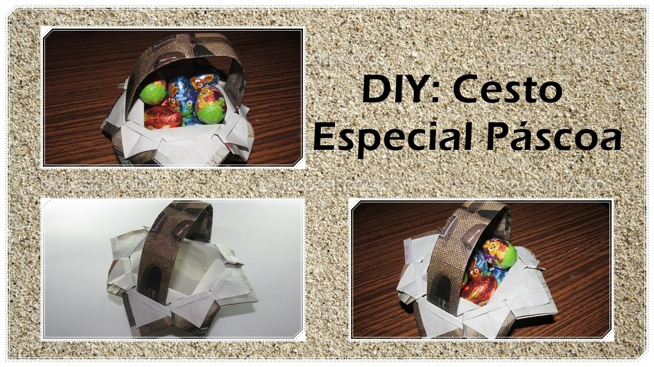 DIY: Cesto de origami