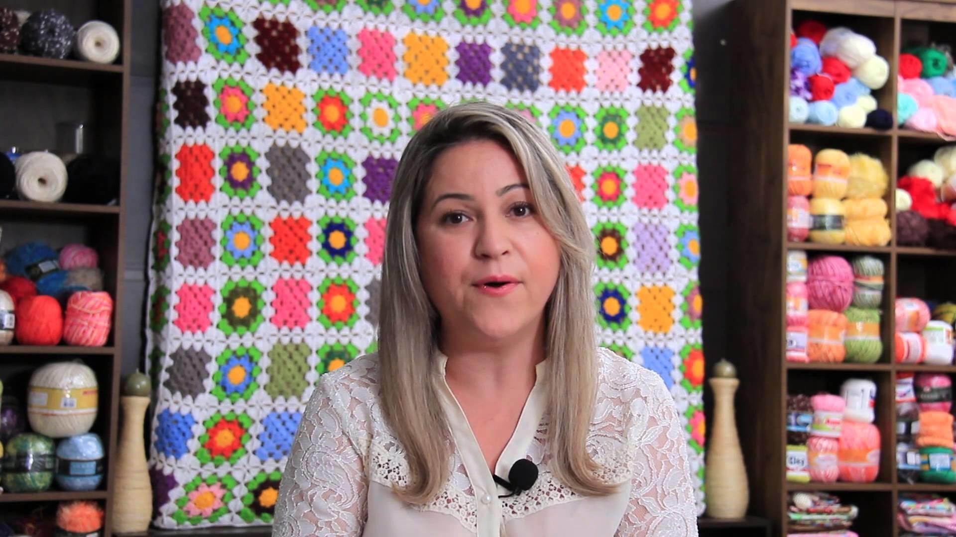 Minha História no YouTube fazendo Artesanato #Crochê #Motivação #Inspiração - Professora Simone