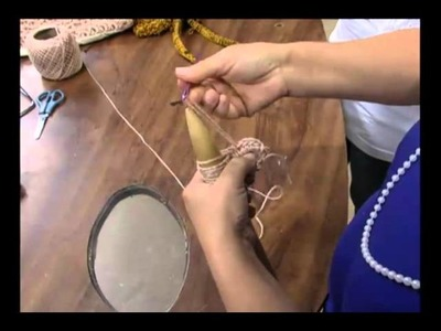 Mulher.com 26.10.2011 - Crochê Peruano