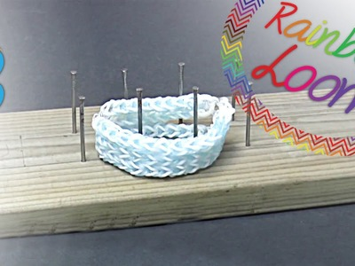 Rainbow Loom - Tear Caseiro