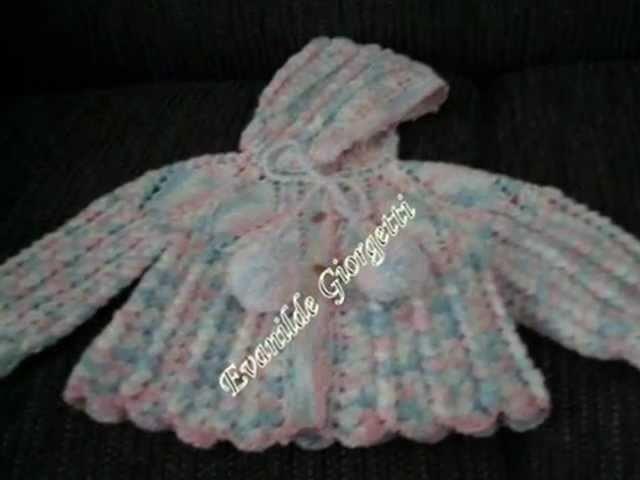 Tricô e Crochê para bebês - Evanilde Artesanatos.wmv