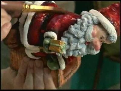12.12.2010 - Papai Noel com pintura Country