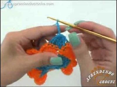 2º Parte - Ponto de Croche Baviera  - Tipos de Pontos no Crochê