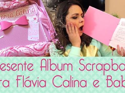 Álbum Scrapbook Flavia Calina- Scrapbook by Tamy