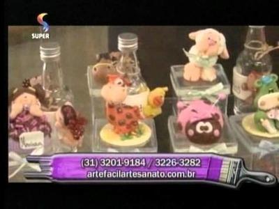 Arte Fácil - Bonecas em EVA - Crys Silva - Hora de Arte