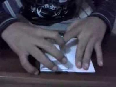 Como fazer um piano de origami