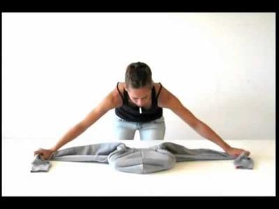 Como transformar sua blusa numa bolsa para levar notebook