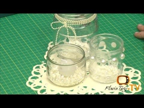 FlaviaTerziTV - Arranjo de velas - Episódio 38