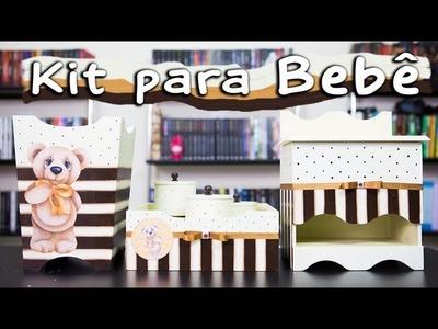 Kit Higiene para Bebê - Como Fazer Artesanato Passo a Passo
