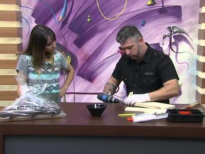 Mulher.com 24.09.2014 - Porta Chaves com Pallet por Deyvis Bianco - Parte 1