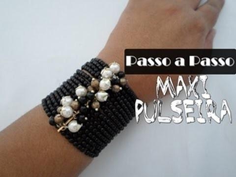 NM Bijoux - Passo a Passo - Maxi Pulseira