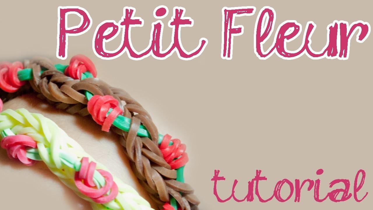 Pulseira PETIT FLEUR - Tutorial - DIY Loom - PT.PT PT.BR