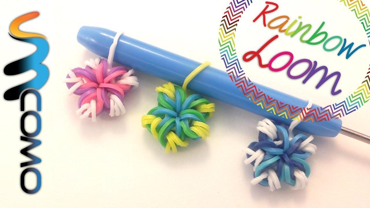 Rainbow Loom - Flor de 5 Pétalas